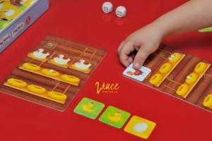 Stolní hra pro nejmenší   Plný kurník